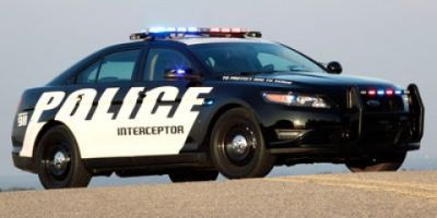 2013 Ford Taurus Police Interceptor (Black)