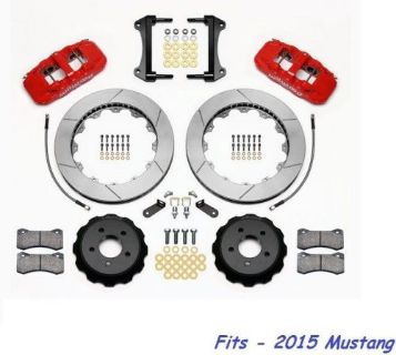 "Sell Wilwood AERO6 Front Big Brake Kit Fits 2015 Ford Mustang,15"" Rotors W/Lines,Red motorcycle in Camarillo, California, United States, for US $2,044.00"