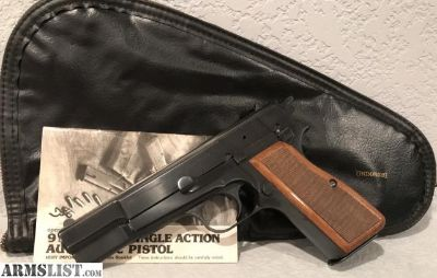 For Sale: BROWNING HI POWER MINT CONDITION COMPLETE