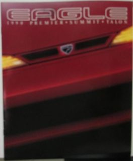 Find 1990 Eagle Premier Summit Talon Color Sales Brochure Original By Chrysler Jeep motorcycle in Holts Summit, Missouri, United States