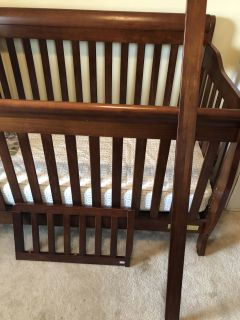 Crib and Dresser/changing table