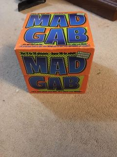 Mad Gab family board game