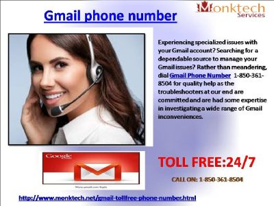 How To Achieve Gmail Phone Number Via 1-850-361-8504?