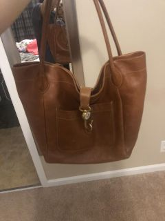Leather dooney and bourke