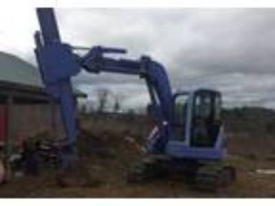 2001 Komatsu PC75-1-Midi-Excavator Equipment in Brimfield, MA