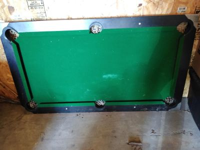 Pool table (smaller in size)
