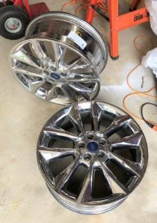 2014-2015 FORD ESCAPE WHEEL RIM PVD BRIGHT CHROME - Factory OEM Wheel