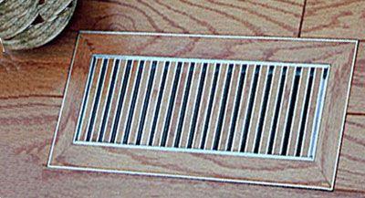 Chameleon Tile and Stone Floor Vent Registers