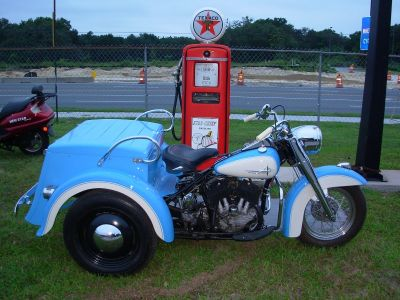"1961 Servi-Car G 45C.I., Harley Davidson ""Longest Production Model-EVER"""