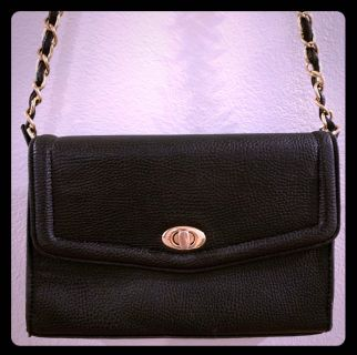 Mini black purse