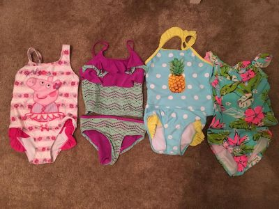 4 swimsuits
