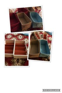 Bundle of 11 drawer and shelving organizers $5 for all