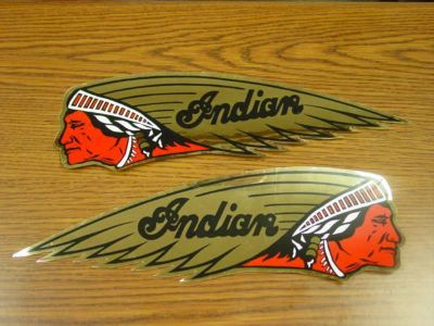 Purchase INDIAN MOTORCYCLE DECALS,OLD INDIAN DECALS,STICKERS motorcycle in Lima, Ohio, US, for US $10.99