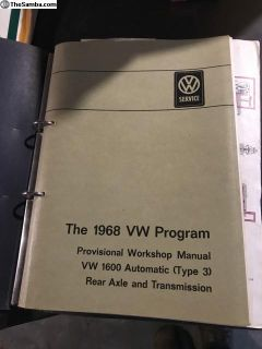 1969 Type III 3 Automatic Workshop Manual