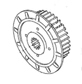Buy NEW KAWASAKI CLUTCH HUB 92-07 KX250 KX 250 CENTER motorcycle in Maumee, Ohio, US, for US $68.99