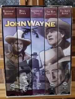 Box set John Wayne vhs