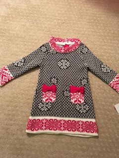 Holiday sweater dress - 24 months