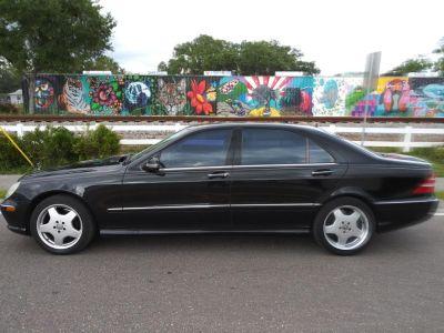 2002 Mercedes-Benz S-Class S55 AMG (Black)