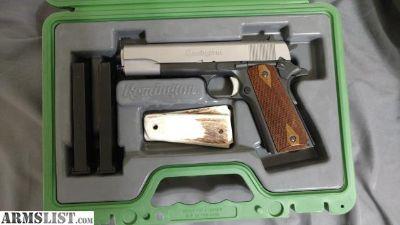 For Sale/Trade: Remington R1 two tone talo edition 1911
