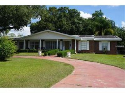WATERFRONT!! Concrete block and brick, ranch home