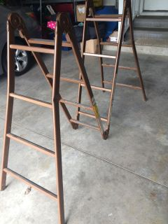 Seven position Scaffold Ladder