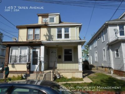 3-Bedroom Twin Home for Rent - 1457 Yates Avenue, Linwood