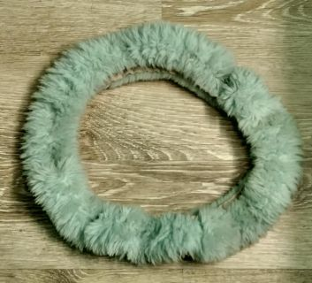 Authentic Australian Sheepskin and Wool Steering Wheel Cover