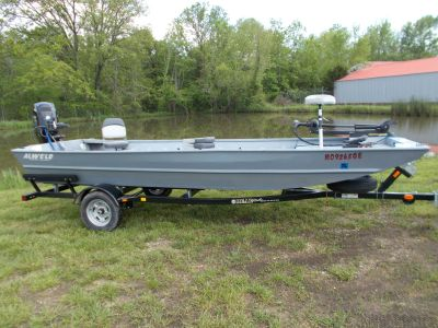 2015 Alweld ALWELD 1752 W/MERCURY 40 JET & BEAR TRAILER Aluminum Fish Boats West Plains, MO