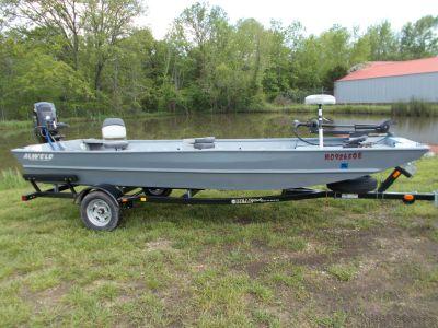 2015 Alweld ALWELD 1752 W/MERCURY 40 JET & BEAR TRAILER Aluminum Fish Boats West Plains, MO