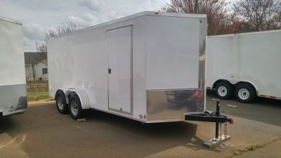 2018 Other New 7x16 Tandem Axle Enclosed Trailer