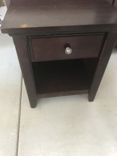Side table - I will have another one when we get out of storage - new PPU location