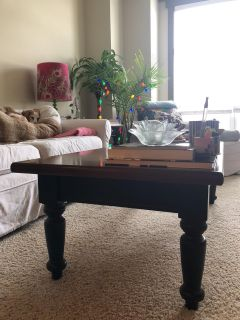 Coffee table & side table set