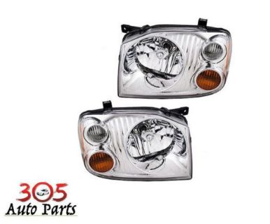 Purchase New Pair Set Headlight Headlamp Assembly for 01-04 Nissan Frontier Pickup Truck motorcycle in Hialeah, Florida, United States, for US $75.70