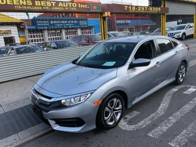 2017 Honda CIVIC SEDAN LX CVT (Modern Steel Metallic)
