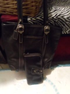Coach Leather bag & Wallet
