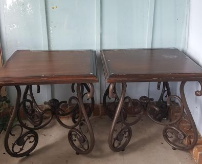 Sturdy side tables