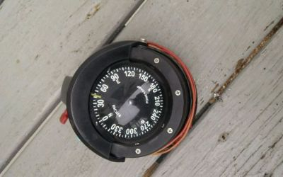 Purchase Ritchie compass Voyager power damp ser# RIT-S87 motorcycle in Biddeford, Maine, United States, for US $85.00