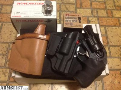 For Sale: Ruger LCR 38 w/holsters, speedloader and ammo