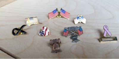new and old pins