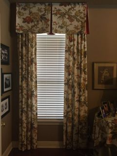 Beautiful Linen Blend Curtains