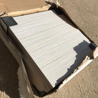 NEW just opened case 12x12 11 total Emser tile. Nice thick matte ceramic selling together- PRICE FIRM