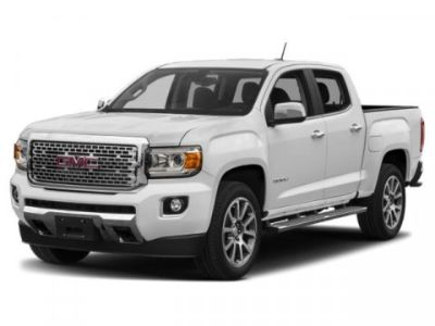 2019 GMC Canyon 4WD SLE (White)