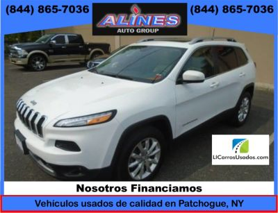 2016 Jeep Cherokee 4WD 4dr Limited (Bright White Clearcoat)