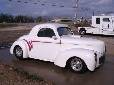 1941 Steel Willys Coupe