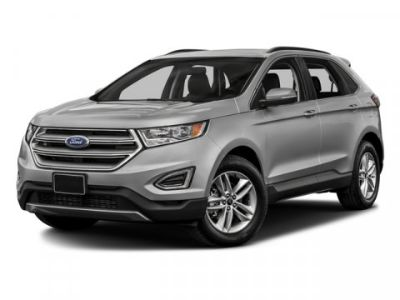 2018 Ford Edge Titanium (Ruby Red Metallic Tinted Cc)