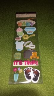 We're Having a Baby Dimensional Stickers