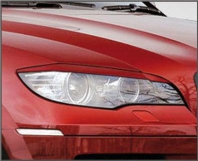 Buy BMW X6 EYELIDS EYEBROWS HEADLIGHT LIGHT BROWS LIDS TRIM M RARE ABS MEAN LOOK motorcycle in Watertown, Massachusetts, United States, for US $69.00
