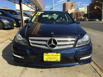 2012 Mercedes-Benz C-Class C300 4MATIC Luxury (Lunar Blue Metallic)