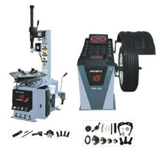 PHOENIX PWB1530A/PWC2710 TIRE CHANGER WHEEL BALANCER COMBO