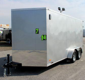 2020 7'x14' Cargo Trailer w/Double Doors